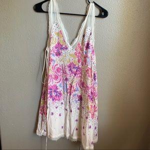 NWT Free People Intimately Cream Mini Dress Small